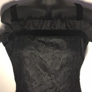 Vintage I.Magnin & co Lace Top